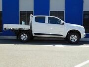 2013 Holden Colorado RG MY13 LX Crew Cab 4x2 White 5 Speed Manual Cab Chassis Welshpool Canning Area Preview