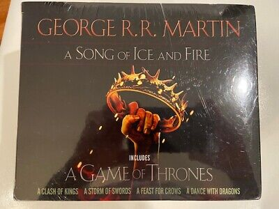 Game of Thrones-A Song of Ice and Fire 5 Book Box Set-George R.R. Martin