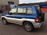 2004 Mitsubishi Pinin 2.0 GLX - 81k miles, great condition