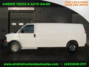 2008 Chevrolet Express Shelf EXT Cargo Van !!