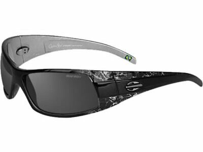 MORMAII Sunglasses Gamboa Street Crystal Grey with hand painted design