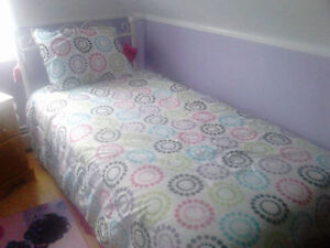 TWIN COMFORTER AND PILLOW SHAME(((( FOR SALE )))))