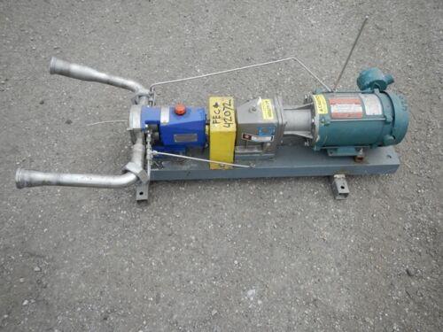 """2"""" LOBEFLO ROTARY LOBE PUMP, S/S, 1 HP (42072)"""