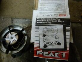 PEAK 1 Model 550-499 Camping Stove