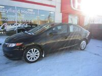 2012 Honda Civic EX Extended warranty, Sunroof, Mags