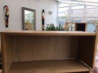 Bookcase Ikea Billy Height Extension Unit Oak Veneer