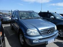 2004 Mercedes-Benz ML W163 350 Classic (4x4) Ice Blue 5 Speed Auto Tipshift Wagon Wangara Wanneroo Area Preview