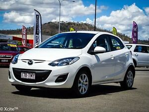 2013 Mazda 2 DE10Y2 MY14 Neo Sport White 5 Speed Manual Hatchback Garbutt Townsville City Preview