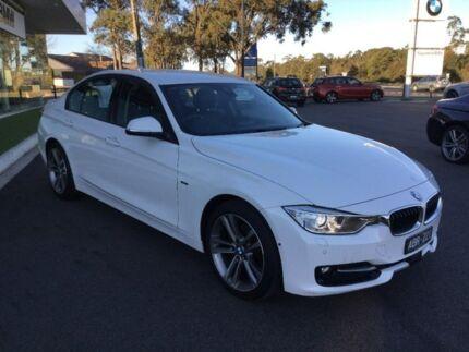 2014 BMW 320d White Sports Automatic Sedan Traralgon Latrobe Valley Preview
