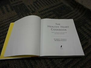 THE HEALTHY HEART COOKBOOK HARDCOVER BY JOSEPH PISCATELLA NEW London Ontario image 4