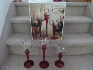 New Christmas Candle Holders