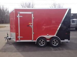 2016 Amera-Lite 7' x 12' Aluminum Enclosed Trailer