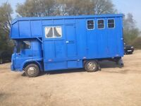 Bedford 7.5t Horse Lorry