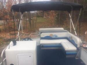 ***NEW ARRIVAL*** 2006 18' SUN PARTY 18' PONTOON WITH 4 STROKE Peterborough Peterborough Area image 15