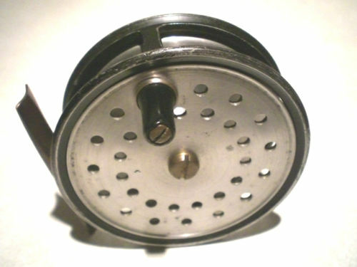 """FINE VINTAGE FARLOW 3 1/2"""" CONTRACTED FLY REEL"""