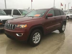2018 JEEP GRAND CHEROKEE LAREDO dark red