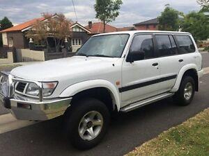 1998 Nissan Patrol GU ST White 4 Speed Automatic Wagon Croydon Burwood Area Preview