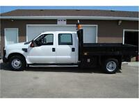 2008 FORD F-350 XLT SUPERDUTY 2WD 9 FT DECK 57K ONLY $18,900.