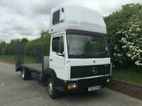 Mercedes 814 eco Recovery flatbed