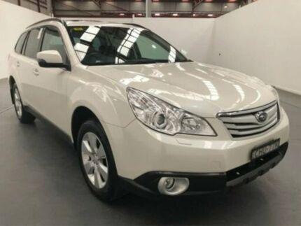 2012 Subaru Outback MY12 3.6R Premium White 5 Speed Auto Elec Sportshift Wagon Fyshwick South Canberra Preview