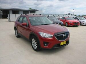 2013 Mazda CX-5 KE1021 MY13 Maxx SKYACTIV-Drive AWD Sport Red 6 Speed Sports Automatic Wagon
