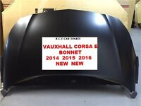 VAUXHALL CORSA E BONNET NEW SHAPE 15 16 REG
