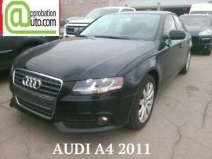 2011 Audi A4 2,0T, À PARTIR DE 56$/SEMAINE 100% APPROUVÉ !