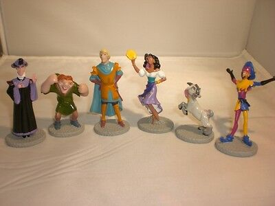Disney Applause Hunchback of Notre Dame Miniature Figures Set of 6 Characters