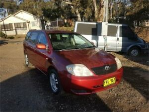2001 Toyota Corolla ZZE122R Conquest Maroon Manual Wagon Lansdowne Bankstown Area Preview