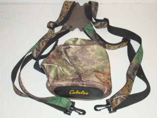 Cabelas Binocular Camo Harness excellent condition
