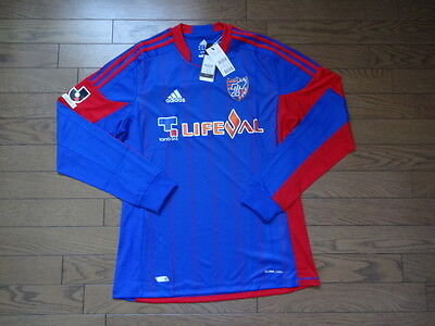 FC Tokyo 100% Official Japan Soccer Jersey XO BNWT 2012 Home LS J-League Japan image