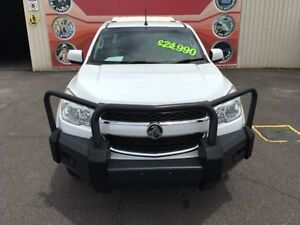 2012 Holden Colorado RG MY13 LX White Auto Sports Mode 4D Cab Chassis Gosford Gosford Area Preview