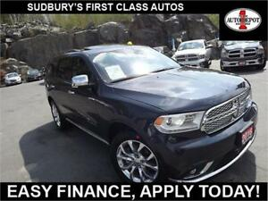2016 Dodge Durango CITADEL!! NAV!! DVD!! HEATED LEATHER!! SUNROO