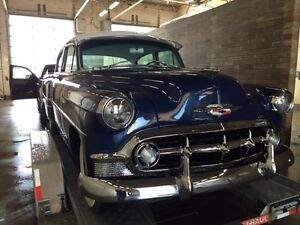 1953 Chevrolet 210 4 door restored. price drop $2000.00