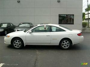TOYOTA SOLARA CAMRY 2 DOOR COUPE GORGEOUS LEATHER!! (CLEAN!)