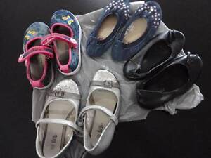 4 pairs of girls' size 10 and 11 shoes Warner Pine Rivers Area Preview