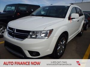 2011 Dodge Journey R/T All-wheel Drive WHITE LEATHER 7 PASSENGER
