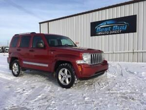 2009 Jeep Liberty Limited Edition -3 MTH WARRANTY INCLUDED!