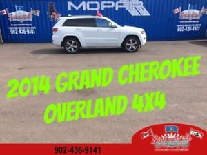 2014 Jeep Grand Cherokee Overland 4X4 FULLY LOADED