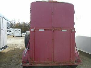 1989 McBride 2 Horse Straight Load Bumper Pull Steel Trailer London Ontario image 4