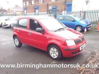 2010 (59 Reg) Fiat Panda 1.1 Active ECO 5DR Hatchback RED + LOW MILES