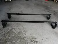 Mont Blanc roof bars for Audi A3 2005