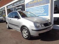 Volkswagen Polo 1.2 ( 55bhp ) 2003 S Low miles 89k Full Mot