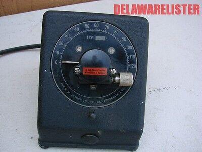 Antik Vintage Elektrisch 2 / Zwei Minuten Timer Uhr Labor gebraucht kaufen  Versand nach Germany