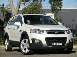 2011 Holden Captiva CG Series II 7 White 6 Speed Sports Automatic Wagon Condell Park Bankstown Area Preview