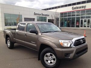 2013 Toyota Tacoma SR5 Power Package V6 4x4 Double-Cab 140.6 in.