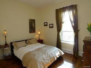 3 chambres plateau proche parc lafontaine