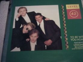 """Vinyl 12"""" 45 Level 42 To Be With You Again Extended Version Polydor POSPX 855"""