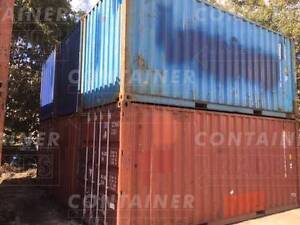 Shipping Containers – New & Used Brisbane In From $1730 Ex GST Brisbane City Brisbane North West Preview