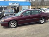 2004 Chevrolet Impala Fully Certified and E-tested!